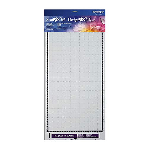 Brother ScanNCut Standard-Halterung, 30,5 x 61 cm, Textil, weiß, 30.5 x 61 cm
