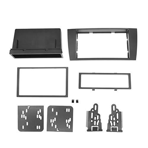 Kit di installazione per autoradio 2 DIN per Jaguar X-type 2002-2008 S-type 2003-2008 In-Dash CD Adapter Trim