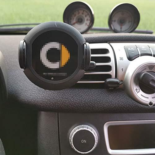 mächtig der welt WXQYR Car Handy-Navigationshalterung Drahtloses Ladegerät Smart 451 10W Schnellladung für Brabus…