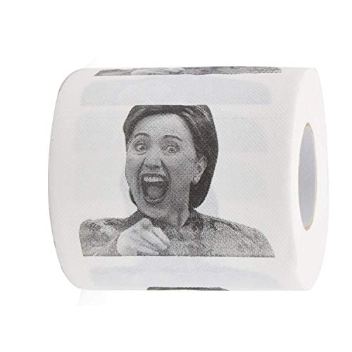 Funny Toilet Brand Hillary Clinton Toilet Paper- Funniest Political Gift of 2016