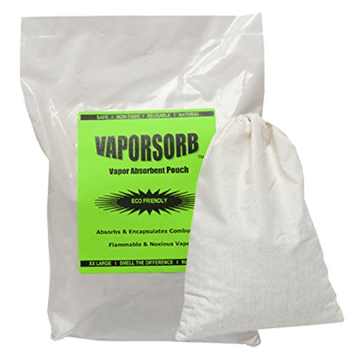 VAPORSORB Reusable Vapor Eliminator Pouch: Absorbs Solvent & Gas Fumes in 150 Sq. Ft.