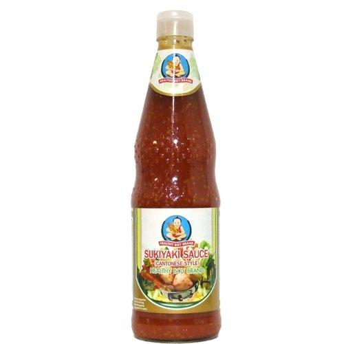 Sukiyaki Dip Sauce nach Kanton-Art - feurig lecker - Healthy Boy - 700ml