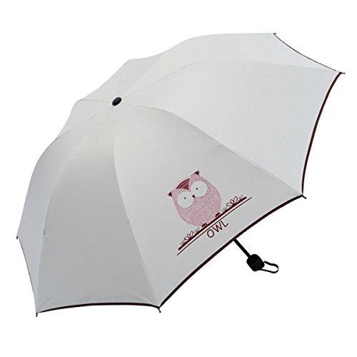 Paraguas Plegable, Mini Paragua/Paraguas Ultraligero, Ultra Mini, Ultra Protector ( UV Resistencia & Impermeable) Paraguas Del Sol/Lluvia, Gran Regalo para Las Mujeres (Esposa, Novia, Hija)