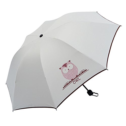 OldPAPA Paraguas Plegable, Mini Paragua/Paraguas Ultraligero, Ultra Mini, Ultra Protector (UV Resistencia & Impermeable) Paraguas del Sol/Lluvia, Gran Regalo para Las Mujeres (Esposa, Novia, Hija)