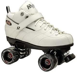 Rock GT-50 Mens Speed Roller Skates 2011 - Size 7.0 - White