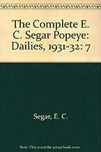 The Complete E.C. Segar Popeye: Dailies, 1931-32: 7 (The Nemo Bookshelf)