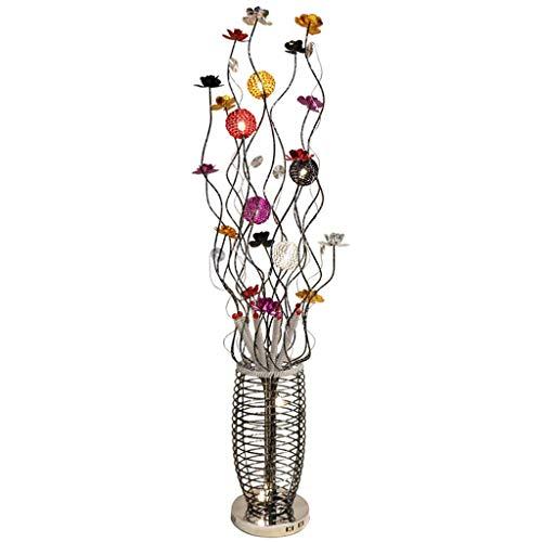 Stehlampe Bunte Garten Kreative Kreative Wohnzimmer Schlafzimmer Nachttischlampe Blume Aluminium (Color : A-150cm)