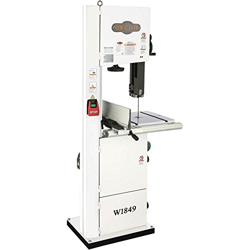 Shop Fox W1706 Bandsaw with Cast Iron Wheels & Deluxe Aluminum Fence