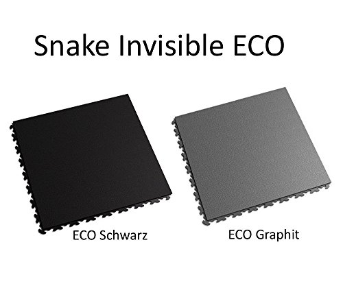 Preisvergleich Produktbild Fortelock® PVC-Vinylfliese 2030 Snake Invisible ECO Graphit
