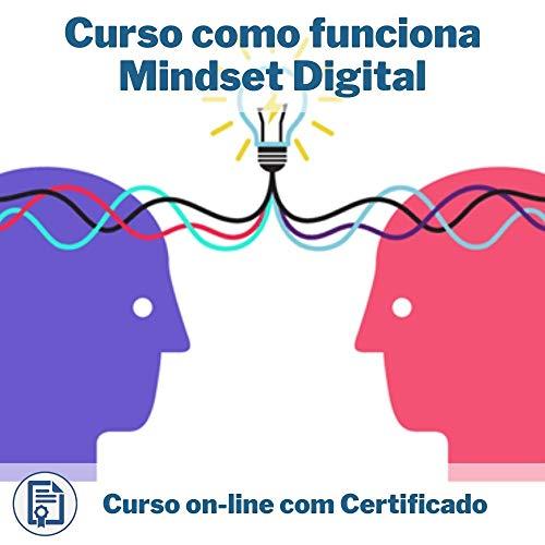 Curso Online em videoaula de como funciona Mindset Digital com Certificado + 2 brindes