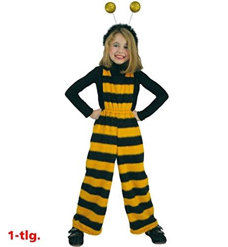 KarnevalsTeufel Latzhose Bienchen 1-TLG. Bienenhose Bienenkostüm Bienchen Bee Bienchenkostüm Kinder Kind
