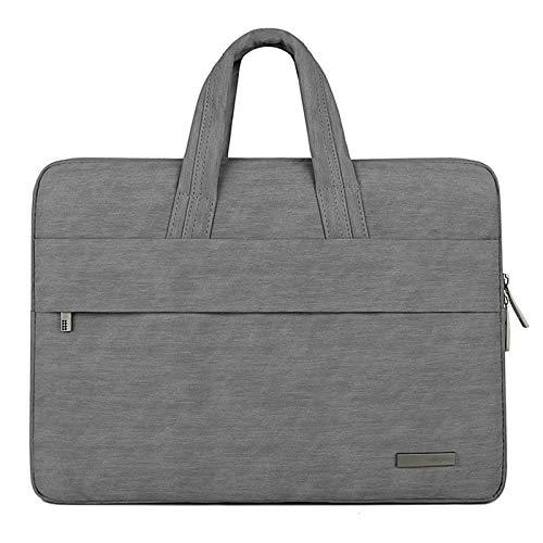NXLWXN Funda Ordenador Portatil 12-15,6 Pulgadas Bolsa Pc Portátil Impermeable Anti-Rasguños Antigolpes Funda Acolchada per Laptop,Dark Gray,15.6in