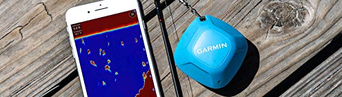 Garmin Striker Cast, Castable Sonar with GPS, Pair with Mobile Device and Cast from Anywhere, Reel in to Locate and Display Fish on Smartphone or Tablet (010-02246-02)