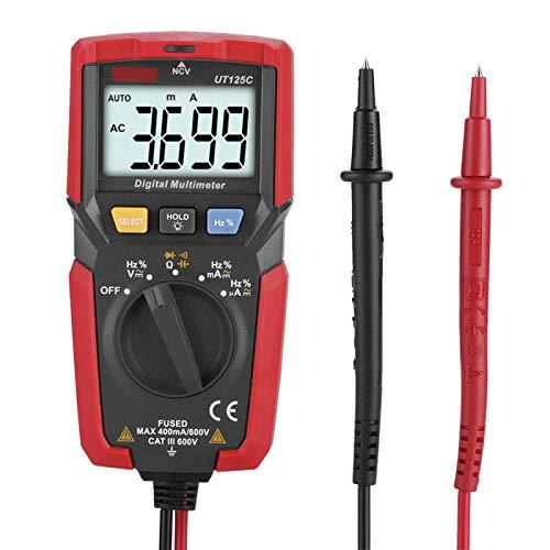 Voltmetro Volt Ohm Meter Tester elettrico Multimetro per il controllo di continuità
