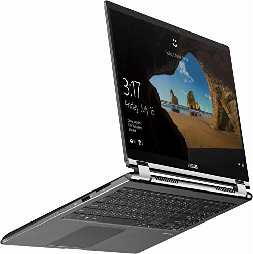 "2018 ASUS 2-in-1 - 15.6"" 4K Ultra HD Touch-Screen Laptop - Intel Core i7-8565U - 16GB Memory - NVIDIA GeForce GTX 1050 - 2TB HDD + 256GB SSD - Windows 10 - Gun Metal Gray"