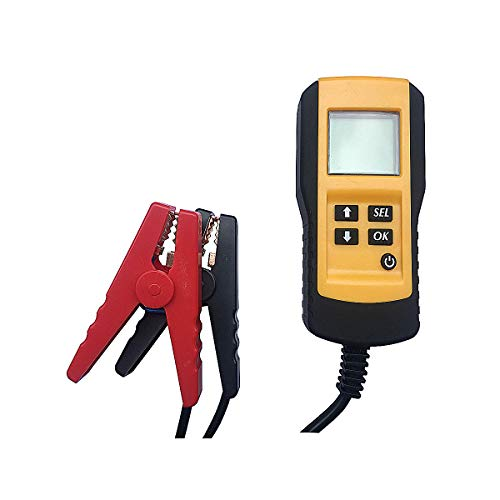 Enbar Car Battery Tester. Electric Bicycle Battery Tester. Battery Life Percentage Analyzer. Suitable for All 12V Battery Tests. The parameters are Visually displayed and The Operation is Simple.