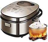 JOYDEEM AIRC-4001 Induction Heating System Rice Cooker and Warmer, 8 Cup(Uncooked)