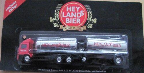 Eder´s & Heylands Nr.043 - Heylands Bier - MB Atego - Hängerzug Tanker