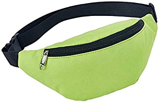 AYM Unisex Waterproof Waist Pack Belly Bags Purse(Black) FTWH (Color : Green)