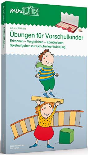 miniLÜK-Sets: miniLÜK-Set: Kindergarten/Vorschule: Übungen für Vorschulkinder: Kasten + Übungsheft/e /...