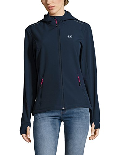 Ultrasport Damen Advanced Tina Softshelljacke, Marine Blau/Pink, XS