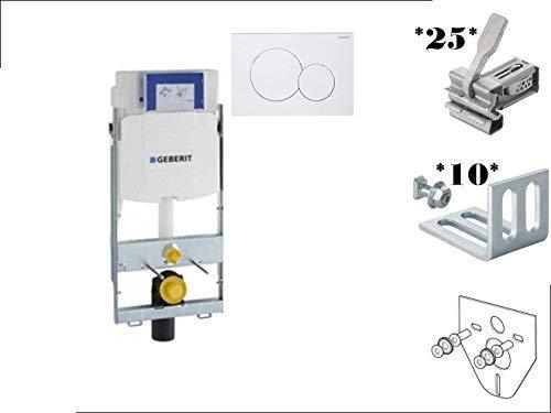Geberit GIS WC Element mit UP 320 + GIS Montage Zubehör SET