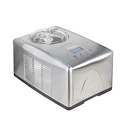 Automatische ijsmachine voor het huishouden ijsmachine intelligente machine behuizing van roestvrij staal 1,4 kwart Zilver.