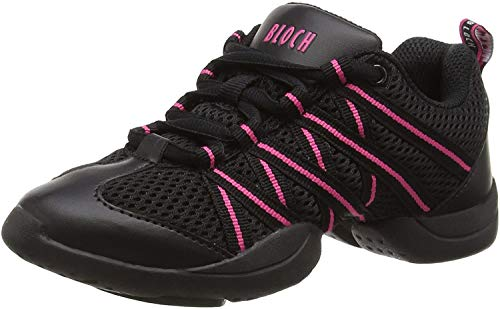 Bloch Criss Cross Damen Sneaker, Pink, 37.5 EU (UK 4.5)