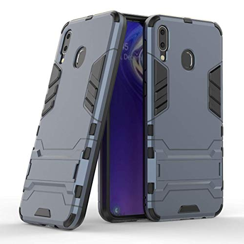 Samsung Galaxy M20 Case, CaseExpert Shockproof Rugged Impact Armor Slim Hybrid Kickstand Protective Cover Case for Samsung Galaxy M20