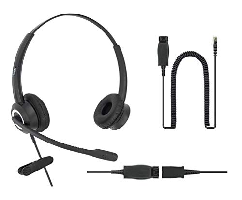 DailyHeadset Headset mit Geräuschunterdrückung, für Avaya IP Phones 1600, 9600, J100 Serie