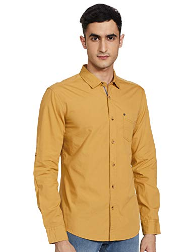 Amazon Brand – Inkast Denim Co. Men's Slim Casual Shirt