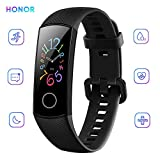 Honor Band 5 Activity Tracker 0,95' Schermo AMOLED a Colori 50M Waterproof Heart Rate Monitor Wristbands Bracelet per Diverse modalità Sportive (Nero)
