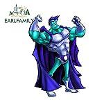 A/X Divertidas de 13cm 9 1 cm para Hero Man Humor Azul Creativas gráficas para Coche Pegatina de reparación Tirar de la Flor-Style_A