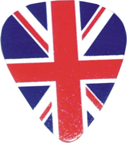 BRITISH FLAG Set of 12, Officially Licensed Original Product, 3' x 3' x 0.5' Guitar Pick