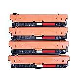 Cartucho compatible para HP 508a Reemplazo para HP Color Laserjet Pro M552 M553 Cartuchos de impresora Cuatro colores para elegir con cartucho de tóner de reemplazo de chip-set