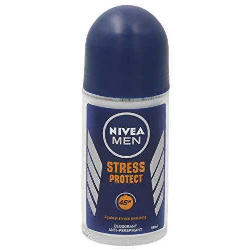 NIVEA F.Men Stress P.ROLLON 50, Negro, Estandar