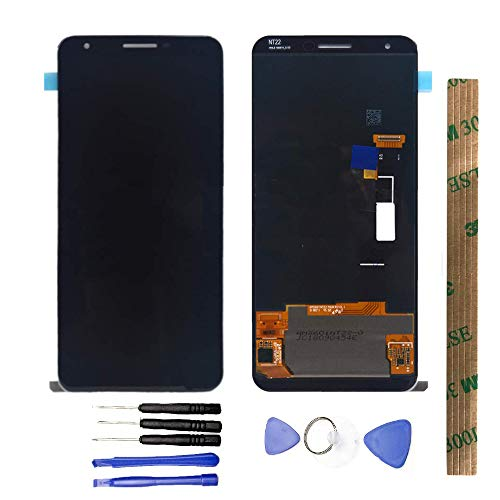 JayTong LCD Display & Replacement Touch Screen Digitizer Assembly with Free Tools for HTC Google Pixel 3A XL G020C G020G G020F Black