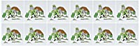 SmudgeArt Saint Patricks Day Designsレプラコーン–Dancing–グリーティングカード Set of 12 Greeting Cards