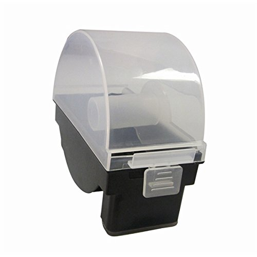 Genware nev-ll1r-2sp Dispensador de Etiquetas, Heavy Duty Rollo simple, 50 mm
