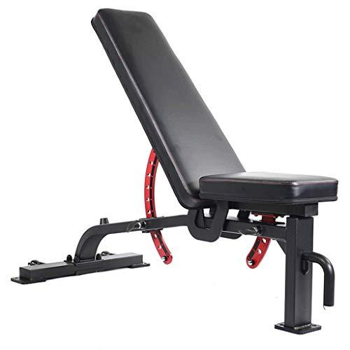 LY88 Fitness halterbank, korte halter, workout, abs, been, bar, korte halterbank, commerciële bankdrukken, rugleuning, bord, persoonlijke trainingskruk