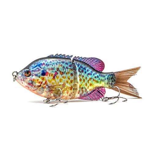 ods lure Bluegill Glide Bait Topwater Fishing Lure Floating Swimbait for Bass Trout Perch Pike Walleye Fishing (14)
