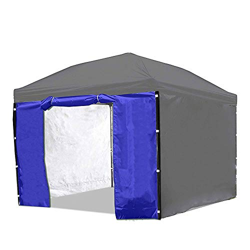 Punchau Canopy Side Wall Door Blue Sidewall With Door For 10x10 Feet Pop Up Canopy Tent Buy Online In Barbados Punchau Products In Barbados See Prices Reviews And