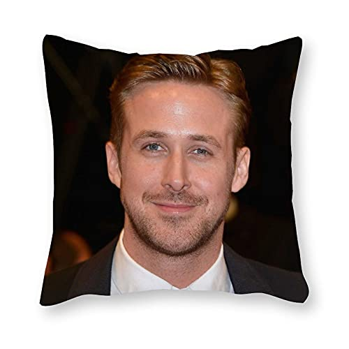 Ryan Gosling - Cojín de almohada (40 x 40 cm), diseño de arte pop