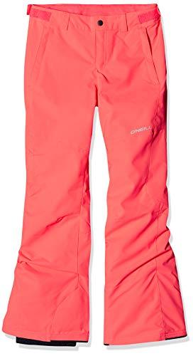 O'Neill Mädchen Charm Snow Pants, neon Tangerine pink, 176