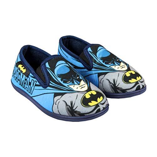 Artesania CERDA Jungen Zapatillas De Casa Francesita Batman Niedrige Hausschuhe, Blau (Azul C37), 30 EU