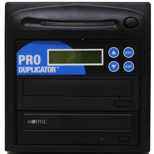 Produplicator 1 to 1 24X Burner M-Disc Support CD DVD Duplicator - Standalone Copier Duplication Tower