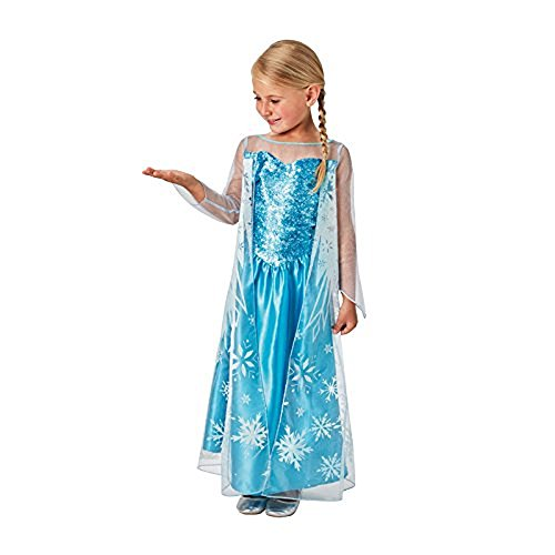 Rubie's Frozen Costume Elsa per Bambini, S, IT630750-S