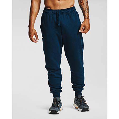 Under Armour Rival Fleece Joggingbroek voor heren, comfortabele en warme, strakke trainingsbroek voor heren, joggingbroek, met losse pasvorm