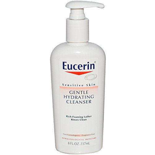 Eucerin Gentle Hydrating Cleanser for Face & Body - 8 oz (Packaging may vary)