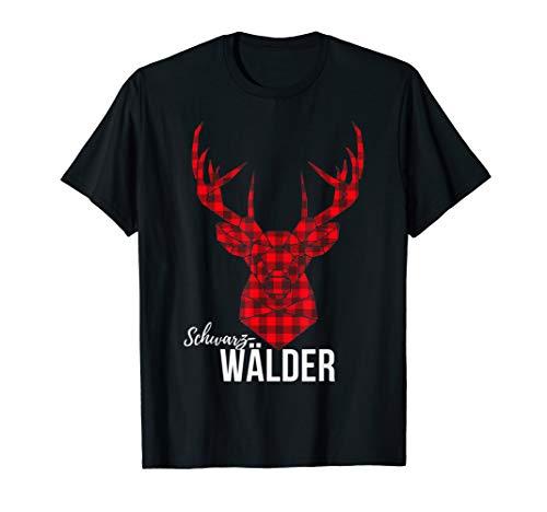 Cooles Schwarzwälder Hirsch Design. Schwarzwald T-Shirt T-Shirt